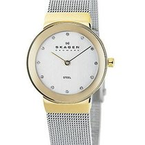 Skagen Ladies Classic Mesh & Swarovksi Crystal Watch -...
