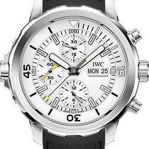 IWC Aquatimer Chronograph Stainless Steel White Dial 44mm