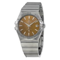 Omega Constellation Co-Axial 35 mm Stainless Steel Mens Watch...