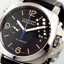Panerai Unworn  Pam 524 Luminor 1950 3 Days Chrono Flyback...