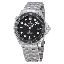 Omega Seamaster Black Dial Automatic Mens Watch 212.30.41.20.0...