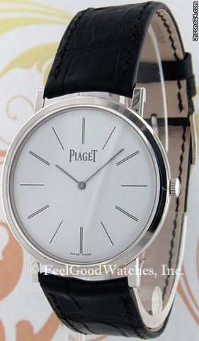 Piaget G0A29112 Altiplano, White Gold