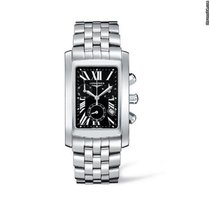 Longines L56804796 Dolce Vita Chrono SS XL Mens Quartz Watch