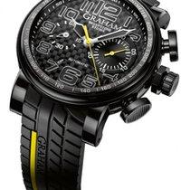 Graham Silverstone Automatic Chronograph Strap Men's Watch...