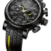 Graham Silverstone Automatic Chronograph Strap Men's Watch...