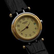 Hermès Winsdor Ladies Watch - Stainless Steel & 18K Gold...