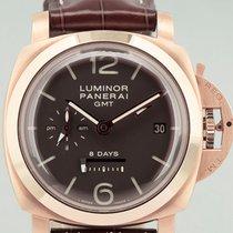 Panerai Luminor 1950 8 Days GMT Pink Gold B/P Ltd. 300 Pcs