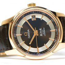 Omega De Ville Hour Vision 18k Rose Gold 41mm 431.63.41.21.13....