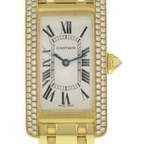 Cartier Tank Americaine Ladies Quartz in Yellow Gold with...