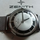 Zenith rare little star  automatic 2542 pc two tone dial mm 36