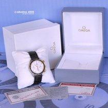 Omega SPEEDMASTER Reduced STEEL / GOLD ORO 18Kt White dial Full