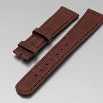 "A. Lange & Söhne ""Lederband Kroko braun 20/16 mm""..."