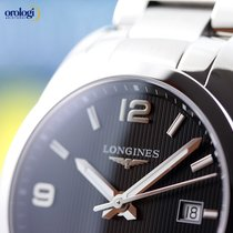Longines Men's Conquest Classic 40mm Automatic Steel Watch...