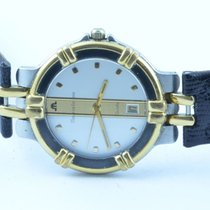 Maurice Lacroix Herren Uhr Calypso 36mm Quartz Mit Orig. Leder...