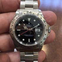 Rolex Oyster Perpetual Explorer II Black Dial Stainless Steel