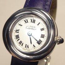 Cartier Trinity Argent Silver Quartz Watch Roman Dial Ref. 2439