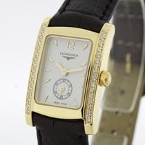 Longines Dolce Vita Ladies solid 18K Gold Diamonds SERVICED...