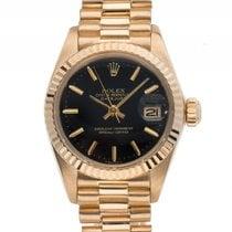Rolex Datejust Lady 18kt Gelbgold Automatik Armband Präsident...