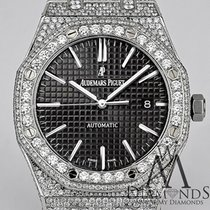 Audemars Piguet Diamond Ap  Royal Oak 41 Stainless Steel...