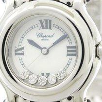 Chopard Polished Chopard Happy Sport Diamond Mop Dial Ladies...