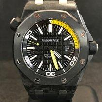 """Audemars Piguet Offshore Diver """"Yellow"""" Carbon Ceramic..."""