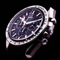 Omega Speedmaster Broad Arrow Auto Co-Axial GMT Chronograph 44mm
