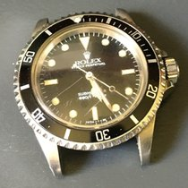 Rolex Ss Vintage Submariner Date 5513 Black Dial 40mm No Date...