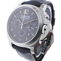 Panerai PAM00356 PAM 356 - Luminor Chrono Daylight in Steel -...