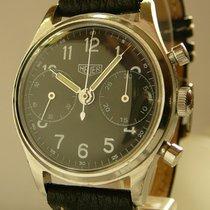 Heuer vintage Chronograph Valjoux Cal 23, 1940s, revision service