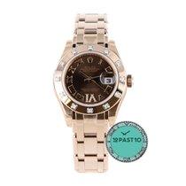 Rolex Datejust chocolate Roman VI 11 diamonds - 80315