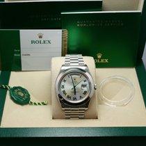 Rolex DAY-DATE II 41mm Platinum UNWORN