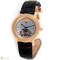 Parmigiani Fleurier Toric Tourbillon 18K Rose Gold Leather...