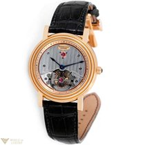Parmigiani Fleurier Toric Tourbillon 18K Rose Gold Leather...