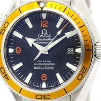 Omega Polished Omega Seamaster Planet Ocean Co-axial Automatic...