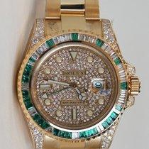 Rolex GMT-Master II Watch Custom Dial and Bezel 116718LN