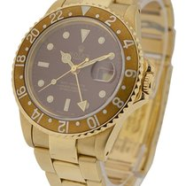 Rolex Used 18KT YG Rolex Oyster Perpetual GMT Master Ref. 1675