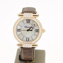 Chopard Imperiale 18RoseGold 28mm MOP Dial (B&P2016)...
