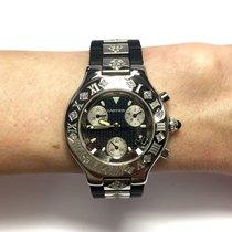 Cartier Chronoscaph 21 Ss Men's/unisex Watch W/ Diamonds...