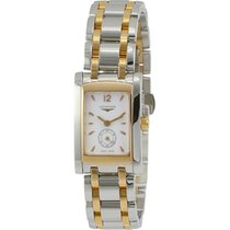 Longines Dolce Vita White Dial Two-tone Stainless Steel Ladies...