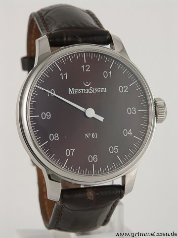 Meistersinger Handaufzug  Herrenuhr
