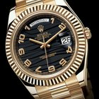 Rolex Yellow Gold Day-Date II 41mm 218238