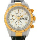 Tudor Tiger Woods Chronograph Steel And 18 Yellow Gold 79263