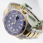 Rolex Submariner 116613 Two-Tone Blue Ceramic Bezel Gold
