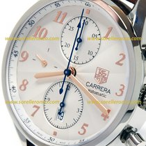 TAG Heuer CARRERA HERITAGE CALIBRE 16 41MM  SILVER DIAL