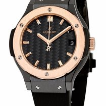 Hublot CLASSIC FUSION CERAMIC KING GOLD 33 mm NEW T