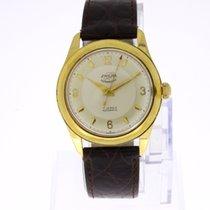 Enicar Ultrasonic Vintage Watch 18K Gold