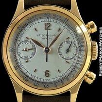 Patek Philippe 1463 Vintage Waterproof 18k Rose Gold Chronograph