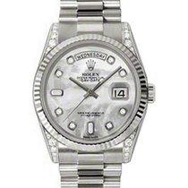 勞力士 (Rolex) Day-Date 36 118339-MOPDFP White Mother of Pearl...