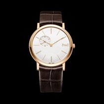 Piaget [NEW] Altiplano White Dial Rose Gold Mens G0A39105