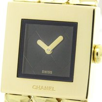 Chanel Polished Chanel Matelasse 18k Solid Gold Quartz Ladies...